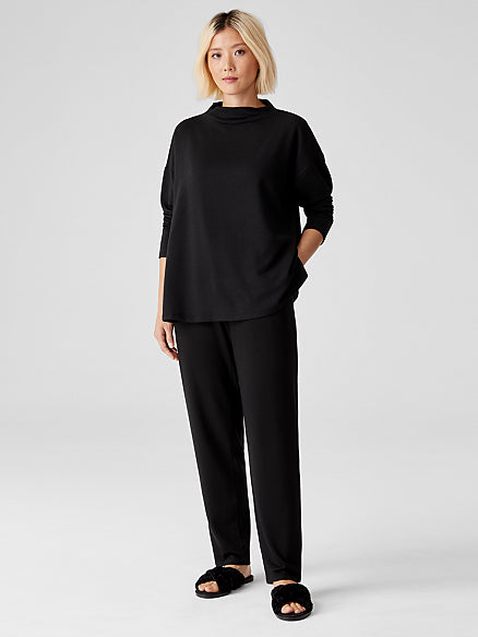 Tencel Organic Cotton Fleece Ankle Pant