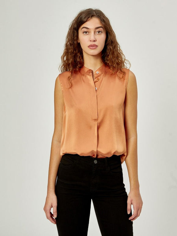 Therese Sunburn Silk Shirt by Equipment