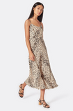 Janeil Animal Print Cami Dress