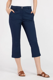 Stretch Mini Twill Capri