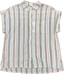 Stripe Short Sleeve Shirt by Dylan