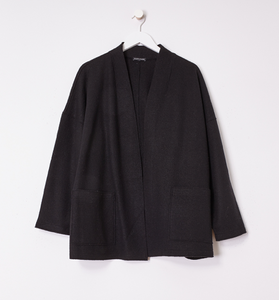 Boiled Wool High Collar Jacket
