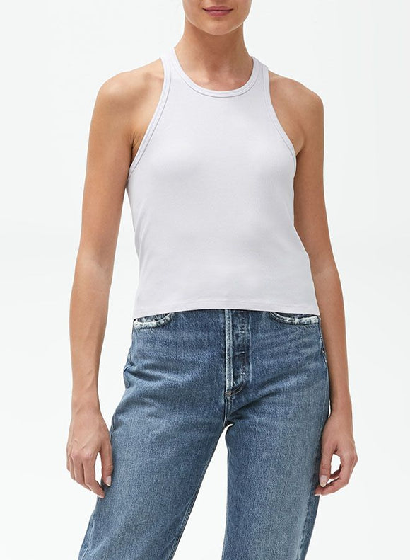 Pina Racer Crop Tank by Michael Stars