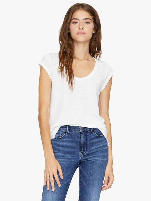 Alma Scoop Neck Tee