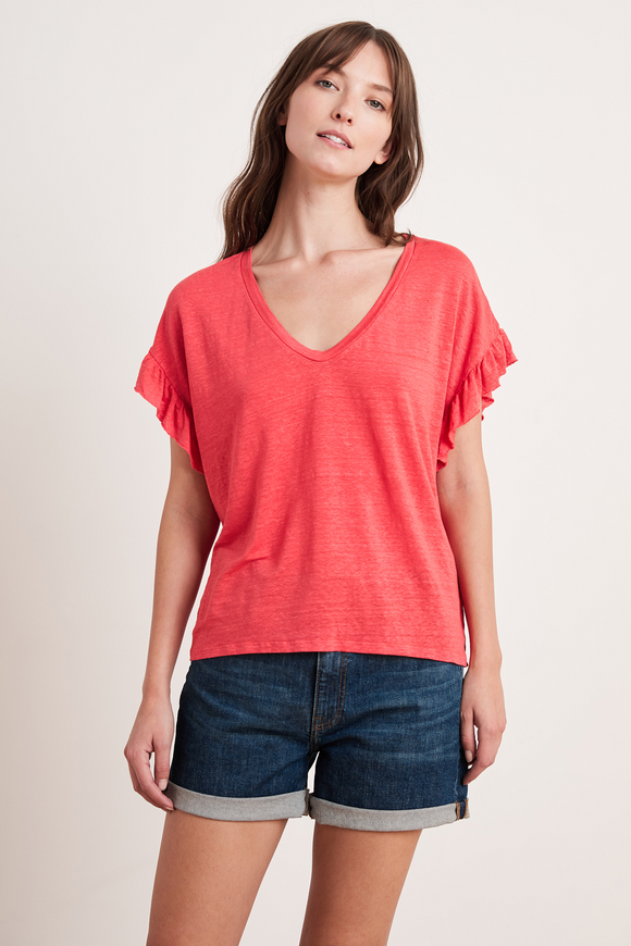 Cordelia Linen Knit Top