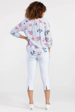 Printed Floral Woven Top