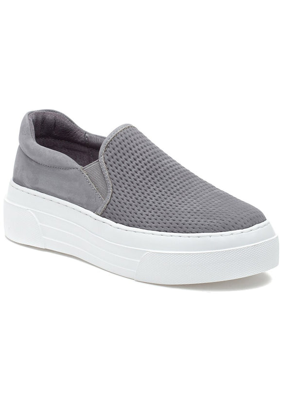 Aileen Perforated Slip-On Tennis Shoe