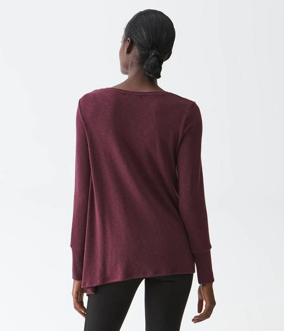 Tahoe Jersey Asymmetrical Top