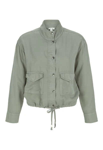 Soft Touch Drawstring Jacket