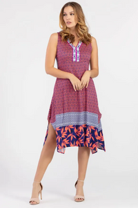 Sleeveless Handkerchief Dress