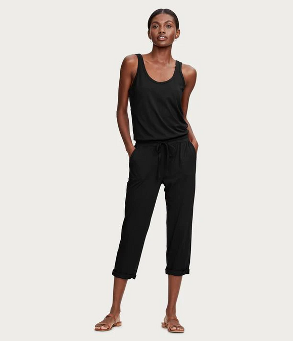 Cotton Modal Tank Jumpsuit