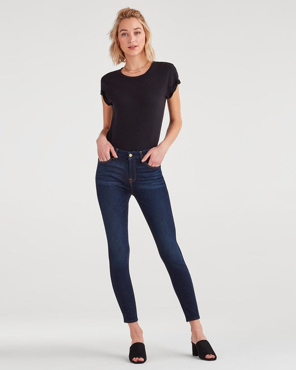 Slim Illusion High Waist Ankle Skinny