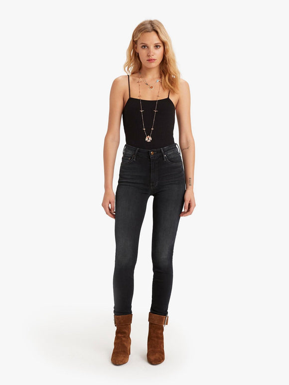 The High Waisted Looker Skinny Jean by Mother