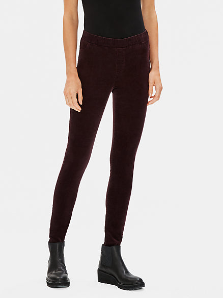 Organic Cotton Tencel Corduroy Jegging by Eileen Fisher