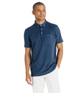 Short Sleeve Polo-Soft Slub Jersey