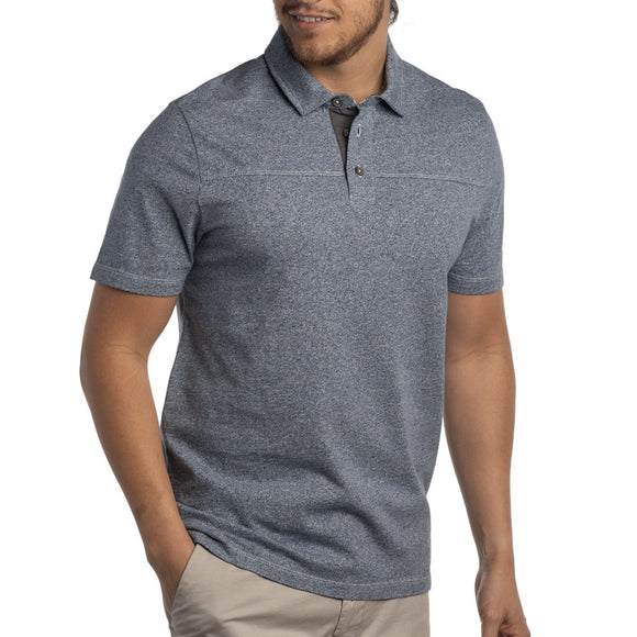 Adler Twist Yarn Jersey Polo