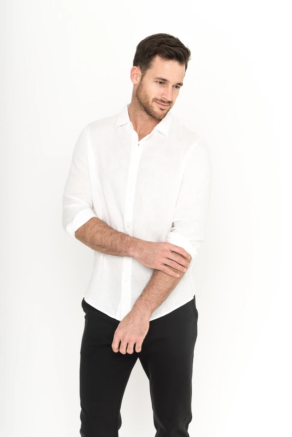 The Sebastian Linen Shirt