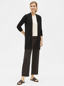 Merino Wool Cardigan by Eileen Fisher