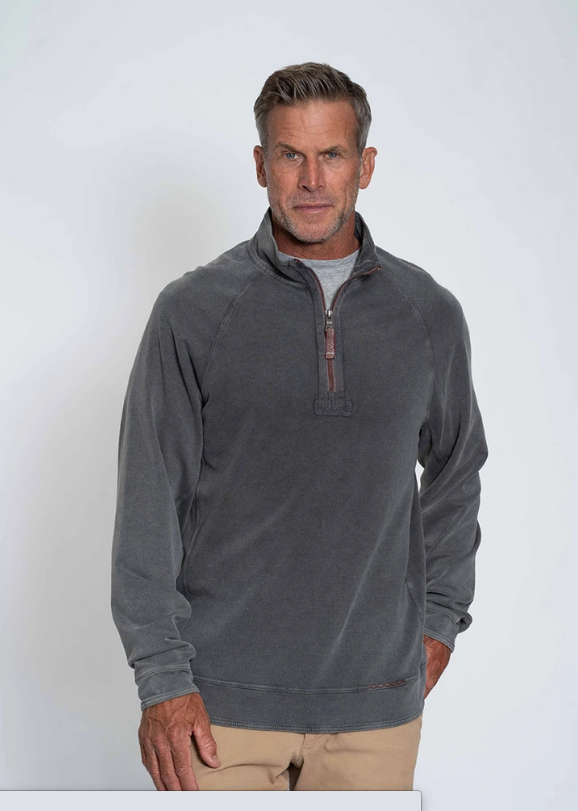Cashmere Heather Fleece 1/4 Zip