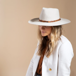 The Abigail Fall Fedora with Feather