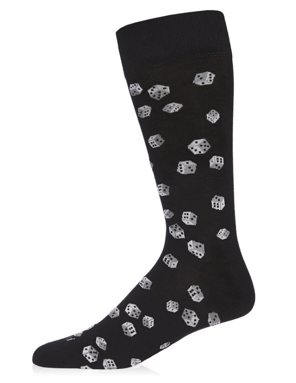 Roll of the Dice Bamboo Novelty Socks