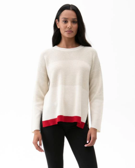 Paige Shimmer Sweater