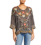 Embroidered Sienna Blouse
