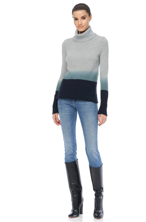 Lucia Ombre Turtleneck