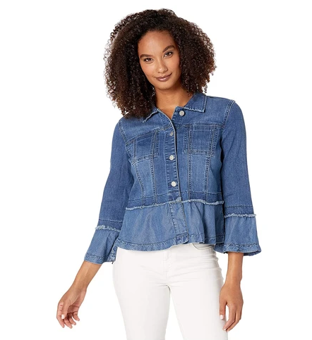 True Denim Bell Sleeve Jacket