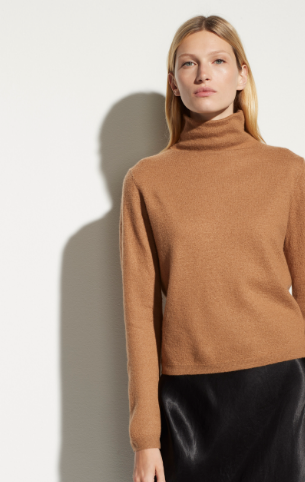 Boiled Cashmere Fitted Turtleneck Sweater