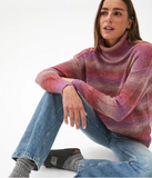 Aspen Space Dye Turtleneck