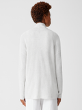 Peruvian Organic Cotton Boxy Cardigan by Eileen Fisher