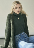 Paxton Boucle Cardigan by Michael Stars