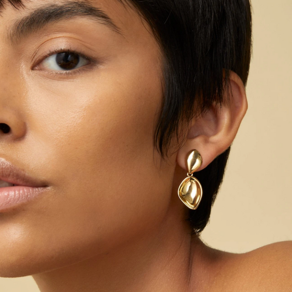 Dore Detachable Drop Earrings by Jenny Bird