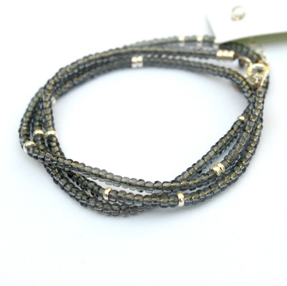 Touch of Shimmer Wrap Bracelet by Jamison Rae