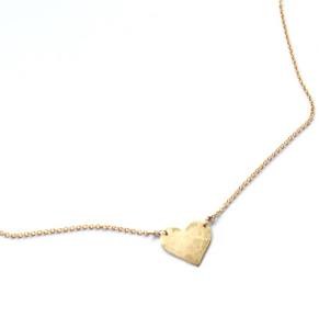 Heart Center Necklace by Jamison Rae