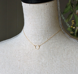 Little Circle Necklace by Jamison Rae