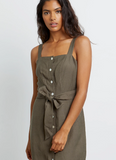 Clement Button Down Dress by Rails