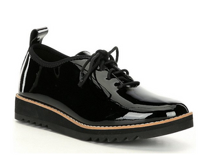 Strive Patent Leather Oxfords by Eileen Fisher