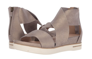Metallic Sport Sandal by Eileen Fisher