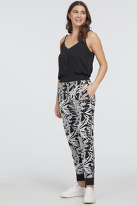Printed Knit Reversible Jogger by Tribal