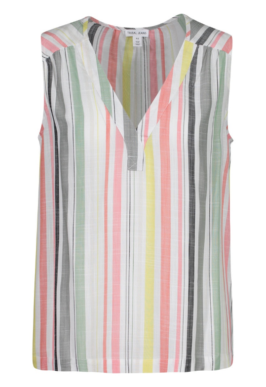 Striped Tank by Tribal