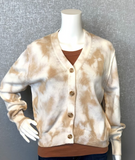 Rylie Cotton Shrunken Cardigan by Michael Stars
