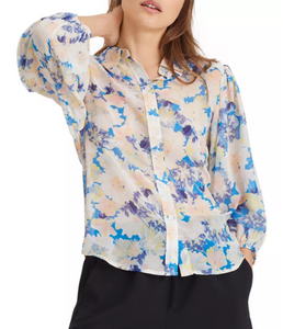 Hillside Floral Print Top by Sanctuary