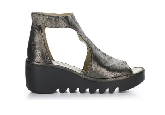 Bezo Wedge Sandal by Fly London