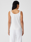 Organic Cotton Jersey Slim Tank by Eileen Fisher