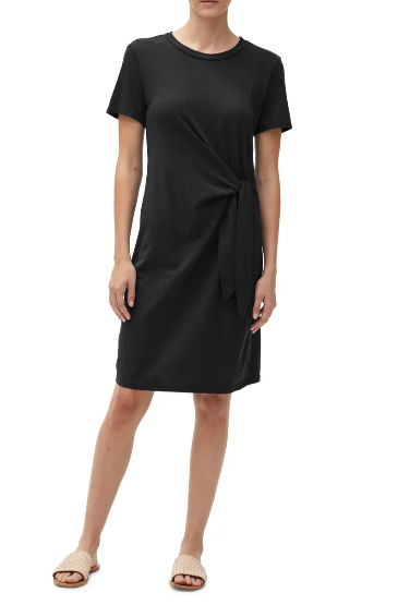 Zooey Side Tie Dress by Michael Stars