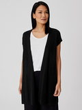 Organic Cotton Linen Long Vest by Eileen Fisher