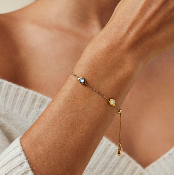 Veaux Slider Bracelet by Jenny Bird