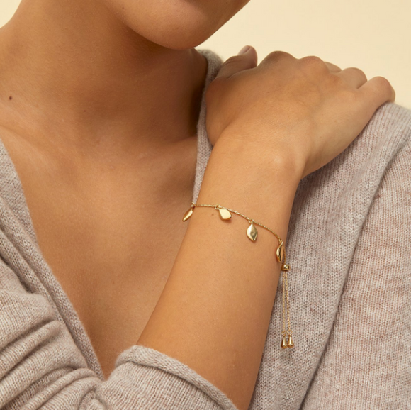 Foli Slider Bracelet by Jenny Bird